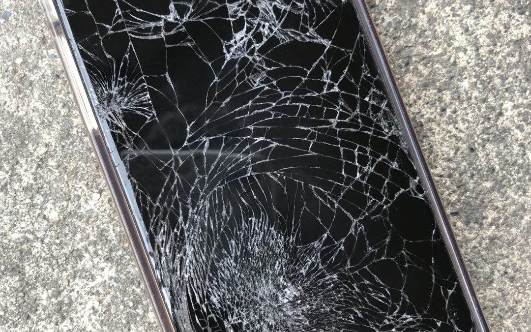 I'm ALMOST Grateful He Shattered His Phone